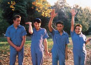 Dante Basco as Dolph, second from the right.