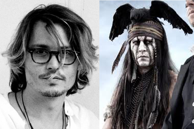 Like when Johnny Depp played a Native American.
