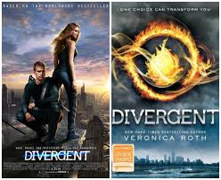 divergent movie and book