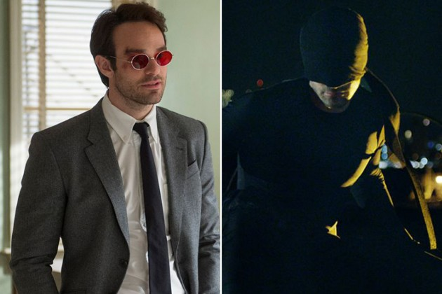 Charlie Cox as Matt Murdock/Daredevil.