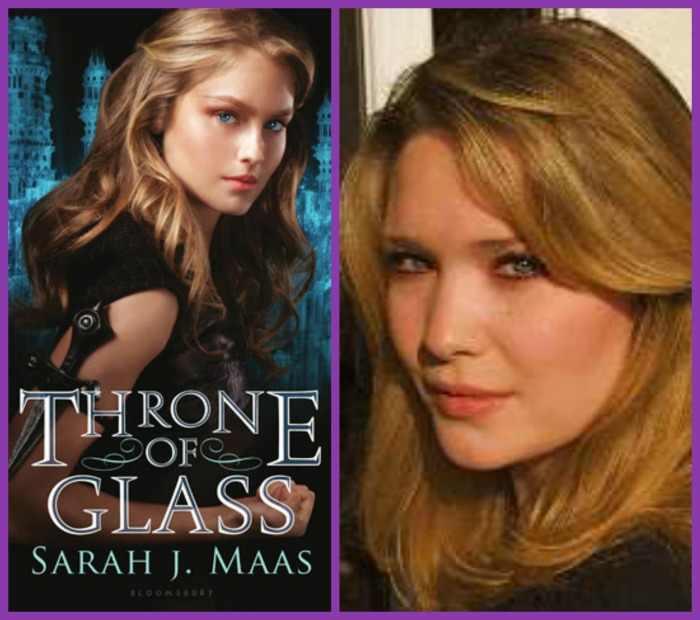 throne of glass and author