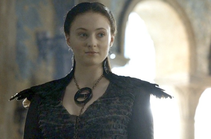 Game of Throne's Sansa Stark is at the center of the latest controversy regarding the show's depiction of its female characters.
