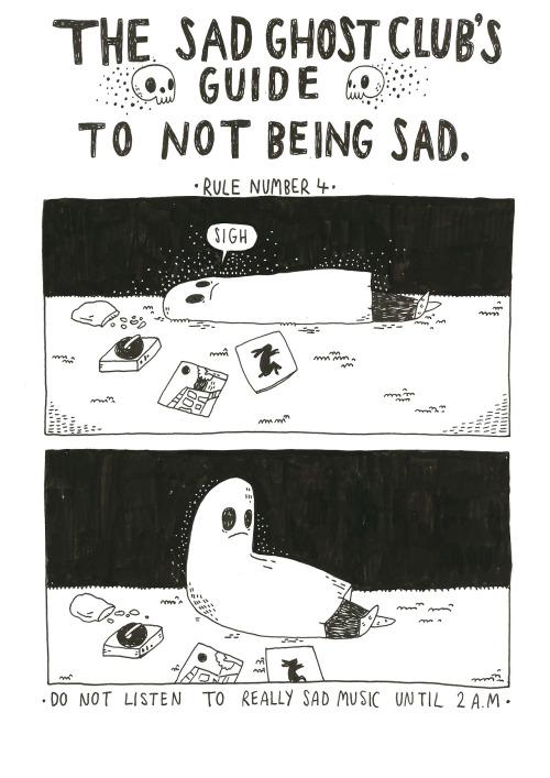 Sad Ghost Club by Lize Meddings.