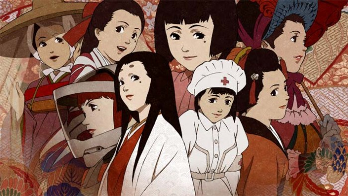 Chiyoko from Millennium Actress is everything from a feudal noblewoman to an astronaut.