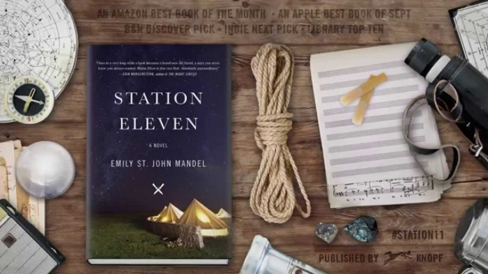From Knopf Publishing's YouTube commercial for Station Eleven.